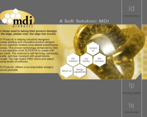 MDI Products Website